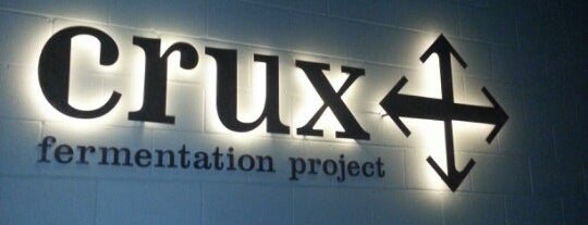 Crux Fermentation Project is one of Thomas 님이 좋아한 장소.