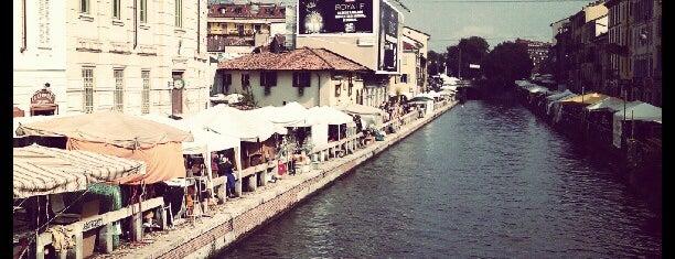 Naviglio Grande is one of 101Cose da fare a Milano almeno 1 volta nella vita.