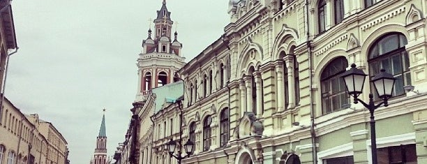 Nikolskaya Street is one of Moscow❤️.