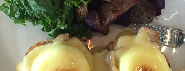 Goofy Cafe & Dine is one of America's 50 Best Eggs Benedict Dishes.