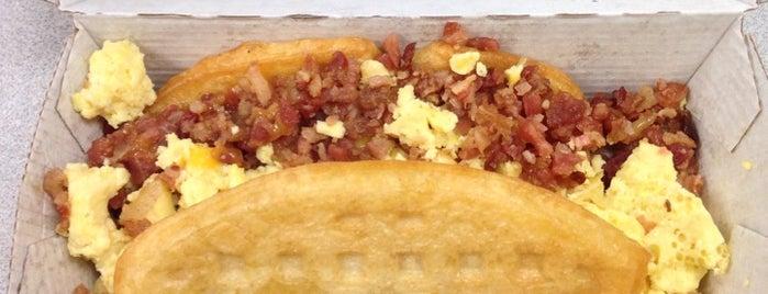 Taco Bell is one of Explore your own neighborhood, jerk..