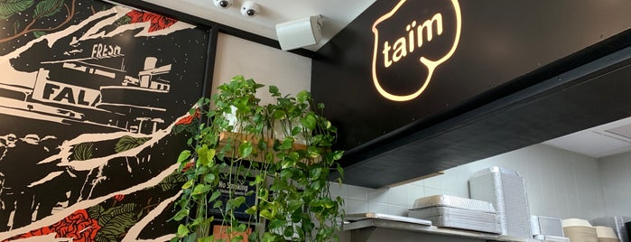 Taïm is one of New New Lunch.