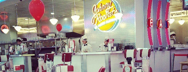 Johnny Rockets is one of Поестьпопить.