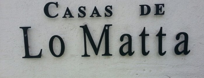 Casas de Lo Matta is one of [S]antiago.