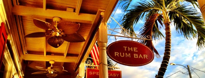 Rum Bar at the Speakeasy Inn is one of Key West.
