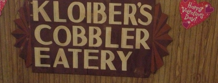 Kloiber's Cobbler Eatery is one of Discover Florida's Space Coast.
