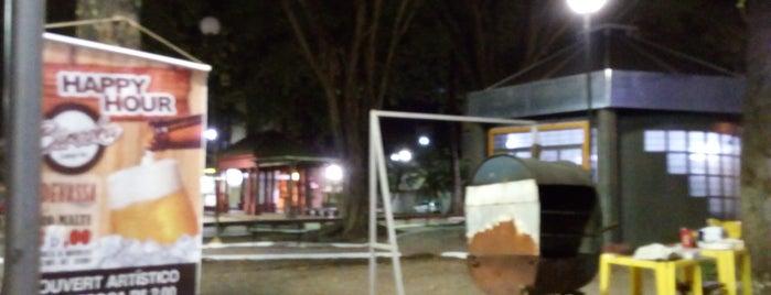 Praça Olinto Leone is one of Tempat yang Disukai Fabinho.