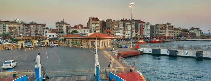 Çanakkale - Eceabat Feribotu is one of Ahmet : понравившиеся места.