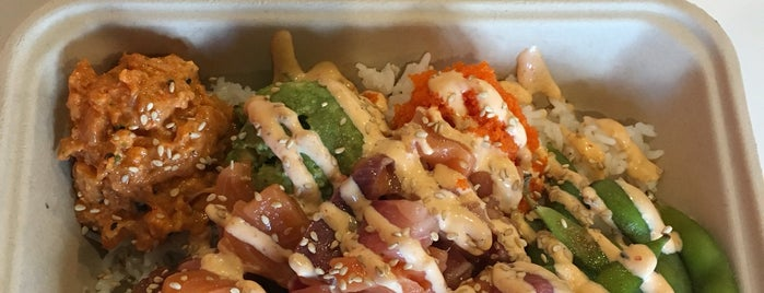 Ola Poke is one of places to try.