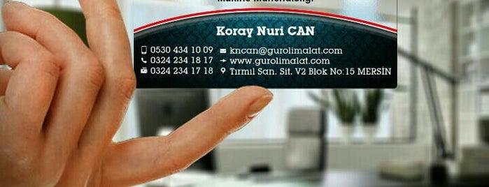 Tırmıl Sanayi Sitesi is one of สถานที่ที่บันทึกไว้ของ AYŞE.