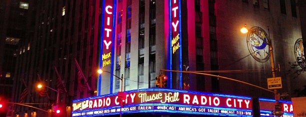 Radio City Music Hall is one of David Milberg NY.