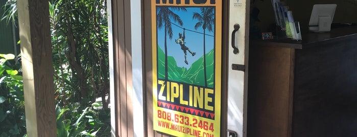 Flyin Hawaiian Zipline is one of Maui.