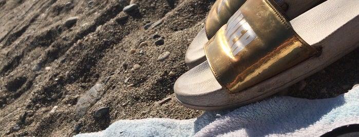 Oba sahıl 9 nolu beach is one of Yunusさんのお気に入りスポット.