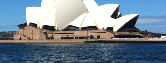 Sydney Opera House is one of Go Ahead, Be A Tourist.