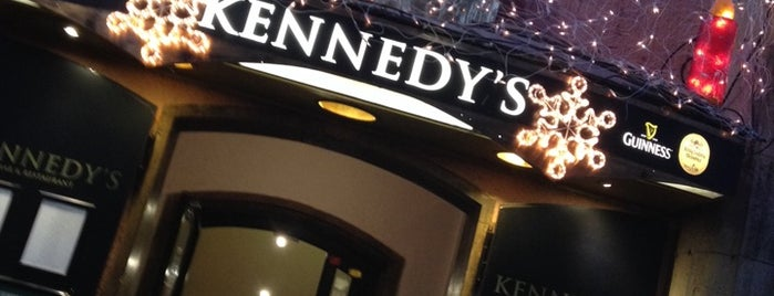 Kennedy's Irish Bar & Restaurant is one of Munich Social.