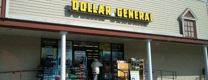 Dollar General is one of Tempat yang Disukai Jason.