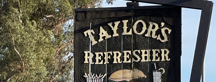 Taylor's Refresher Sign is one of Sonoma/Napa.