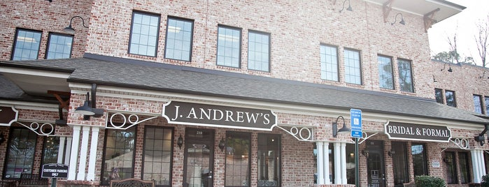J Andrews Bridal is one of Best of Atlanta.
