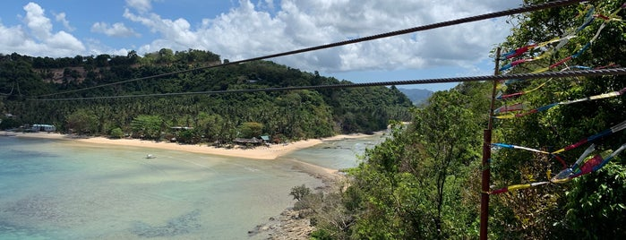 Zipline Las Cabanas is one of El Nido.
