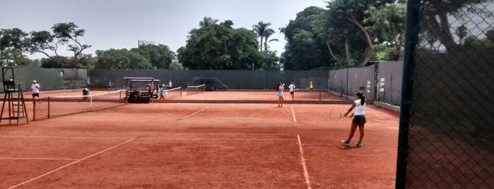 Centro de Esparcimiento del Jockey Club del Peru (Tenis) is one of Posti che sono piaciuti a Sergio.
