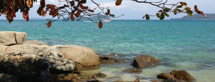 Laem Ka Beach is one of Phuket.