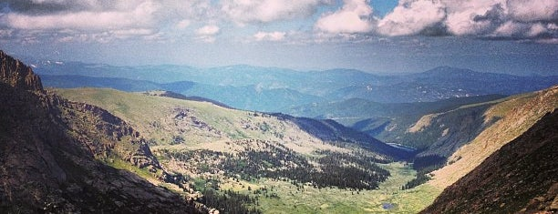 Summit Lake Park (overlook) is one of Denver/Breck Trip 2016.