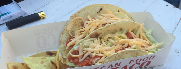 Taco Taco mexican food is one of Boris 님이 저장한 장소.