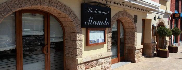 Restaurant Manolo is one of Tarragona Gastronòmica.