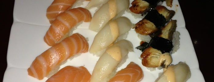 Kyoto Sushi & Hibachi is one of สถานที่ที่ Connie ถูกใจ.