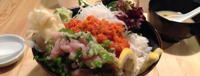 Rue 909 Sushi is one of Vancouver.