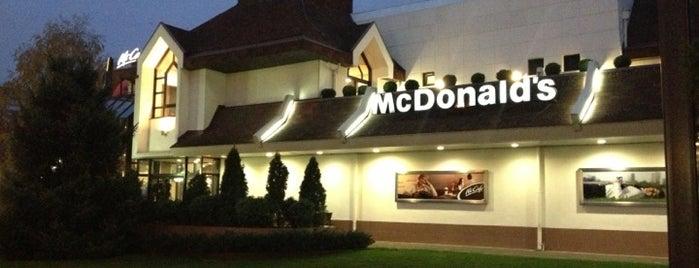 McDonald's is one of Posti che sono piaciuti a James.