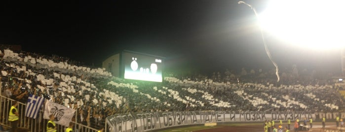 Estadio Partizan is one of International Sports~Part 2....