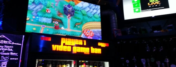 Player 1 Video Game Bar is one of Video Game & Gamer Bars.