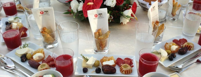 Turkish Do&Co Airline Catering is one of work.