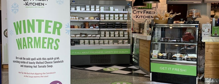 City Fresh Kitchen is one of To visit.