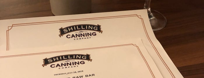 Shilling Canning Company is one of Orte, die Eric gefallen.