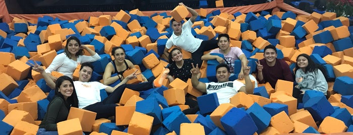 Sky Zone is one of Places.