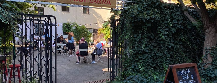Café Truhlárna is one of Prague - Our favorites.