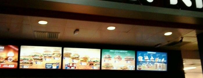 Burger King is one of Orte, die Airanzinha gefallen.