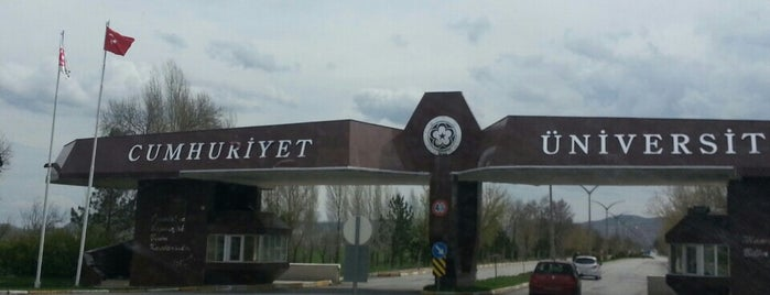 Sivas Cumhuriyet Üniversitesi is one of Tempat yang Disukai Kaan.