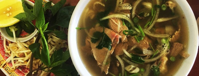 Pho 87 is one of A Beef Noodle Soup Crawl of LA.