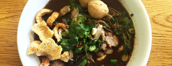 Sapp Coffee Shop is one of A Beef Noodle Soup Crawl of LA.