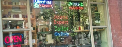 Master Tailoring & Cleaners is one of philly favs.