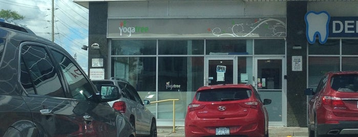 Yoga Tree Richmond Hill is one of สถานที่ที่ Chelsea ถูกใจ.