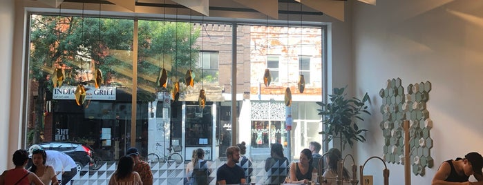 Pilot Coffee Roasters is one of 10 Cafes with Breathtaking Interior Design.