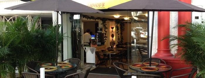 Tipico's Cocina Colombiana is one of สถานที่ที่ Sandy ถูกใจ.