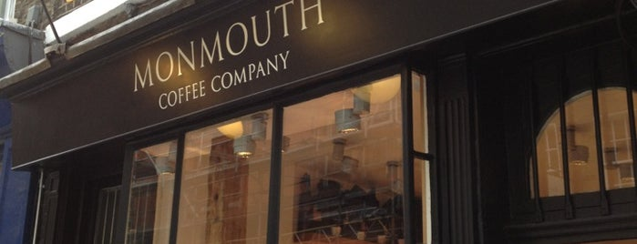 Monmouth Coffee Company is one of Best of London.