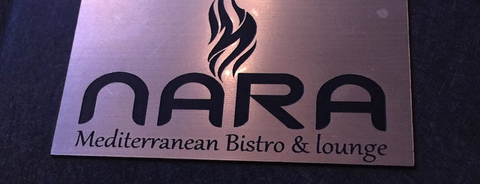NARA Mediterranean Bistro and Lounge is one of California 🇺🇸.