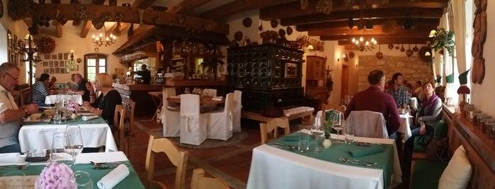 Restaurace U Podkovy is one of Maurerův výběr - TOP100.