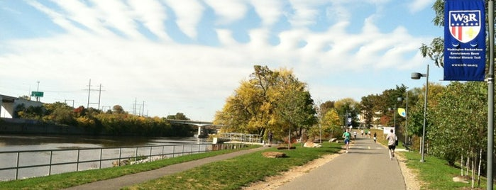 Schuylkill River Trail is one of Romantic Philadelphia.